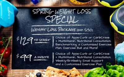 Kick Off This Summer the Right Way with Our New Weight Loss Special
